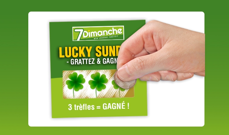 concours Lucky Sunday 7Dimanche
